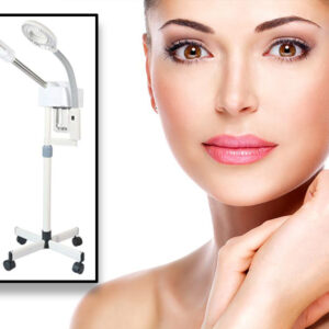 2-In-1 Pro Facial Steamer White